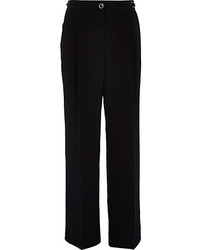 River Island Black Wide Leg Pants
