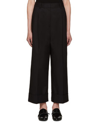 3.1 Phillip Lim Black Wide Leg Trousers