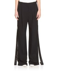 Givenchy Cady Stretch Wide Leg Pants