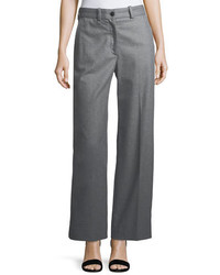 Rag & Bone Crane Wool Blend Wide Leg Pants
