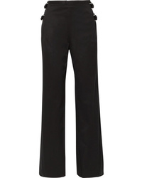 Helmut Lang D Cotton Twill Wide Leg Pants