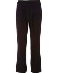 Dorothy Perkins Black High Waisted Wide Leg Trousers