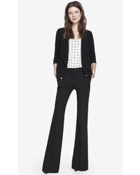 Express Mid Rise Flare Pant