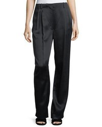 The Row Firth Satin Wide Leg Pants