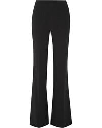Diane von Furstenberg Joan Stretch Crepe Wide Leg Pants