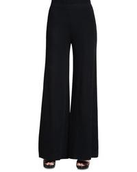 Misook Knit Palazzo Pants Plus Size