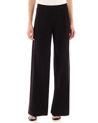Liz Claiborne Knit Wide Leg Pants Tall