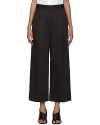 3.1 Phillip Lim Navy Wide Leg Trousers