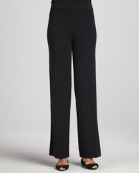 Neiman Marcus Knit Wide Leg Pants