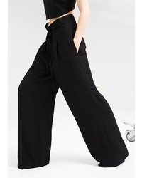 Mango Outlet Outlet Premium High Waist Palazzo Trousers