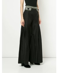 Huishan Zhang Pleated Flared Trousers