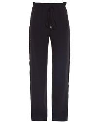 Balenciaga Raw Edge Wide Leg Trousers