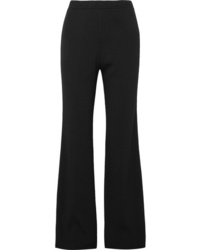 Prada Ribbed Knit Wide Leg Pants