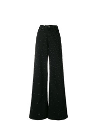 MM6 MAISON MARGIELA Ripped Flared Trousers