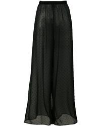 MM6 MAISON MARGIELA Sheer Wide Legged Trousers