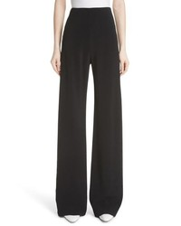 Rosetta Getty Stretch Cady Wide Leg Pants