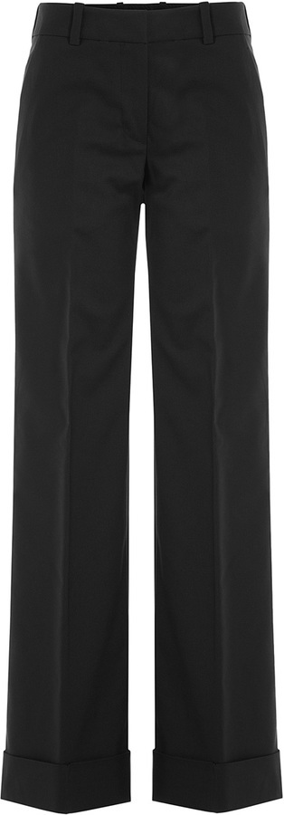 3.1 Phillip Lim Wide Leg Pants With Cotton