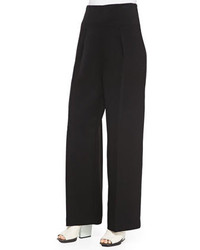 3.1 Phillip Lim Wide Leg Trousers Black