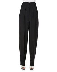 3.1 Phillip Lim Wool Wide Leg Trousers Black