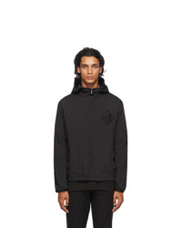 Fendi Black Forever Packable Water Reactive Jacket