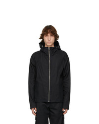 EDEN power corp Black Hemp Enoki Hooded Jacket