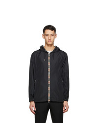 Burberry Black Icon Stripe Jacket