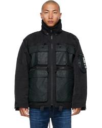 Diesel Black J Akkad Jacket