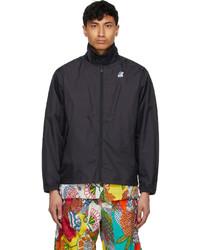 Engineered Garments Black K Way Edition Packable Crepin 30 Jacket