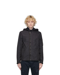 C.P. Company Black Micro M Goggle Overshirt Jacket
