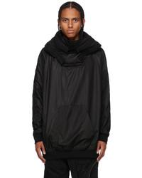 Julius Black Padded Hoodie Jacket