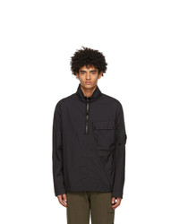 C.P. Company Black Taylon L Mixed Overshirt