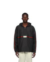 Gucci Black Windbreaker Jacket