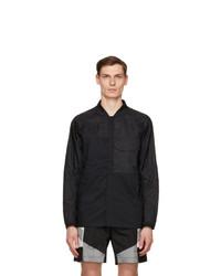 Nike Black Woven Sportswear Tech Pack Jacket