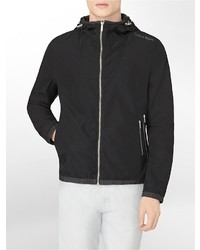 Calvin Klein Lightweight Hooded Windbreaker Jacket