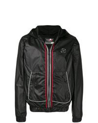 Plein Sport Contrast Stripe Hooded Jacket