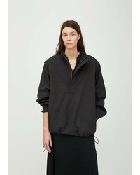 Chimala Detachable Sleeve Windbreaker Black
