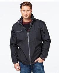 Izod Fleece Lined Windbreaker Jacket