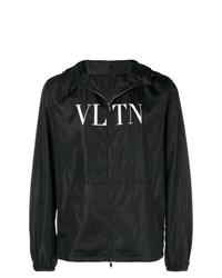 Valentino Hooded Logo Jacket