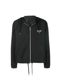 AMI Alexandre Mattiussi Hooded Zipped Jacket Ami Paris Patch