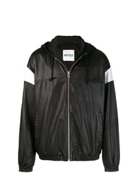 Kenzo Leather Hooded Jacket