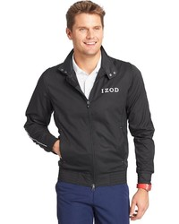 Izod Legends Windbreaker Bomber Jacket