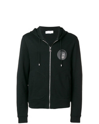 Versace Collection Logo Hooded Track Jacket