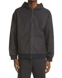 Valentino Multicolor Vltn Hooded Reversible Zip Jacket