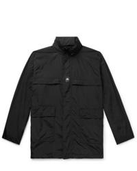Balenciaga Oversized Logo Appliqud Shell Jacket