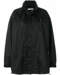 Givenchy Oversized Logo Embroidered Windbreaker Jacket