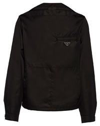 Prada Re Nylon Blouson Shirt