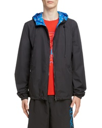 Kenzo Reversible Hooded Windbreaker