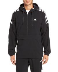 adidas Sport Id Hooded Half Zip Anorak