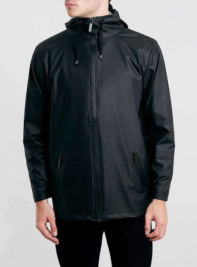 Topman Rains Black Waterproof Windbreaker Jacket | Where to buy ...