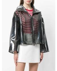 Valentino Transparent Rain Coat